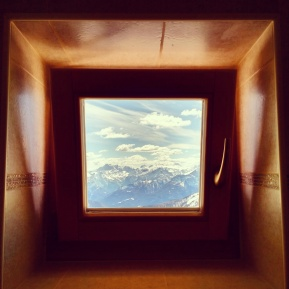 A loo with quite a view!