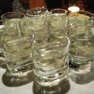 Grappa time in the Badia Pub