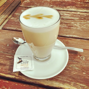 Always a favourite; latte macchiato