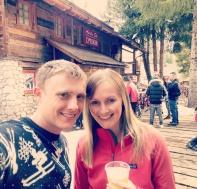 End of season drinkies at L'Murin