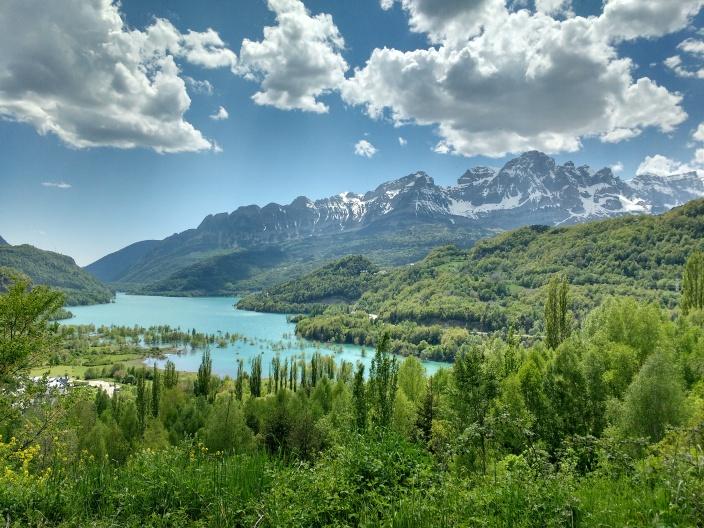 Amazing vista of Sierra De La Partacua & Peña Telera