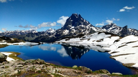 Stunning scenes over the Ayous lakes in the French Pyrenees