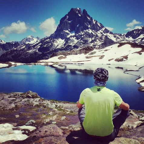 Always time to meditate in the mountains