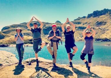 Mountain Yoga!