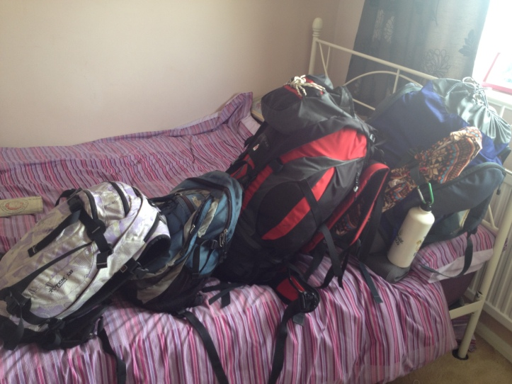 Bags packed, ready to rock and roll