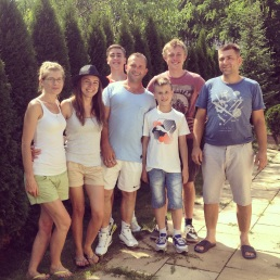 Staying with our Polish family...such an amazing experience.
