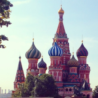Moscow...fabulous time in red scare and the Kremlin