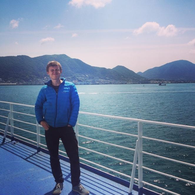 Blue skies and bluer seas