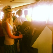 Captain for the day....
