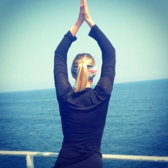 Deck yoga