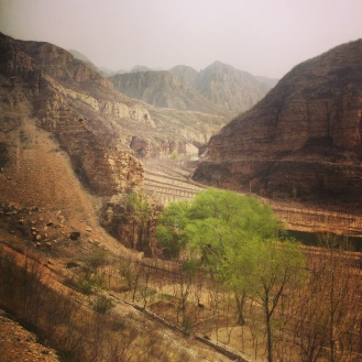 Leaving the madness of Beijing for the calm of the countryside, close to the Great Wall of China