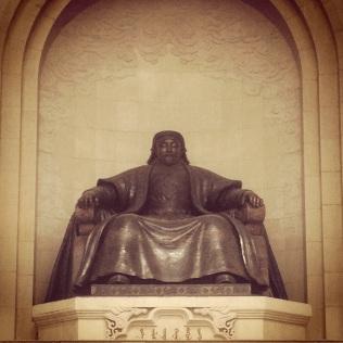 The big guy...Gengis Khan in Ulaanbaatar