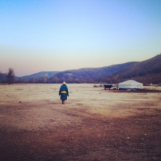 Living a nomadic life in the Mongolian mountains