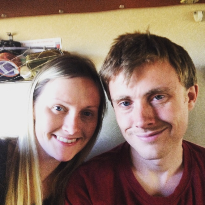 Taking the night train from Moscow to Riga