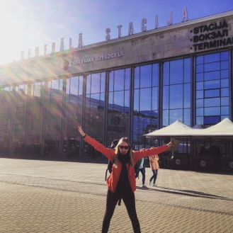 Back in Europe, Hello Latvia