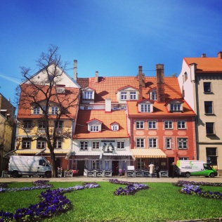 Beautiful Riga town centre