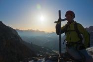 At the summit, Cir Spitze