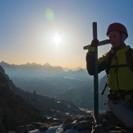 At the summit, Cir Spitze