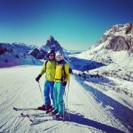 Easter skiing in Cortina