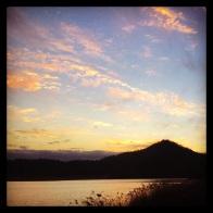 Sunset over Naju