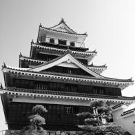 The breathtaking Nakatsu castle