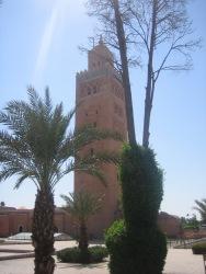 Minarets in Marrakesh