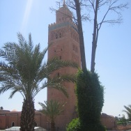 Minarets in Marrakesh