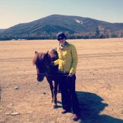 Happy with my pony 🐴
