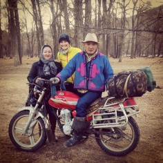 Super glamorous; our third Mongolian family in as many days