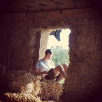 Jo planning his own straw bale house... :D