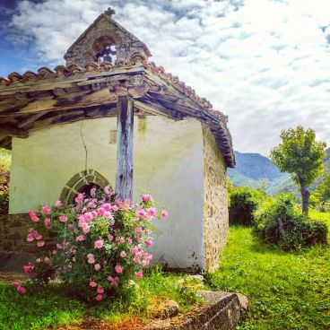An exquisite church in a tiny mountain village which specialised in producing Orujo - the local tipple