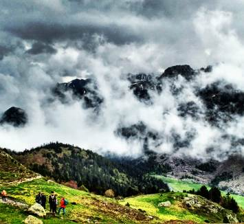 An inversion lifting around Pic Du Midi D'Ossau