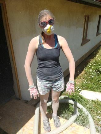 Dusty work!
